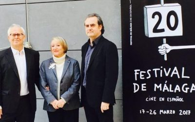 Presentación XI Spanish Screenings - Málaga de Cine en Academia de Cine